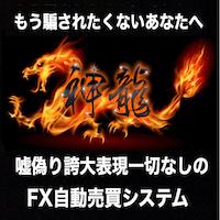 嘘偽り誇大表現一切なしFX自動売買システム「神龍」 画像