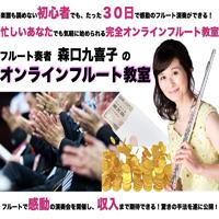 森口九喜子のオンラインフルート教室(フルート無し) 画像